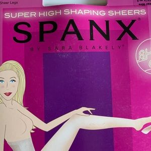 Spanx BRAND NEW black super high shaping sheets